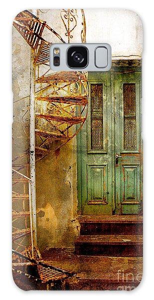 Green Door Galaxy Case