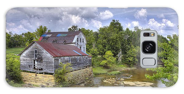 Greens Mill At Falls Of Rough Kentucky Galaxy Case by Wendell Thompson