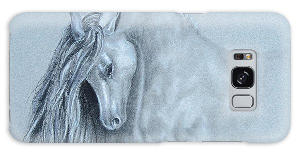 Grey Horse Galaxy Case by Laurianna Taylor