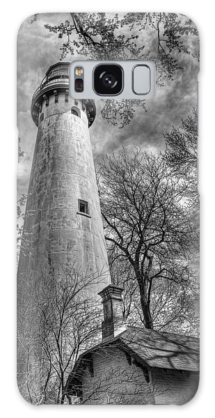 Grosse Point Lighthouse Galaxy Case