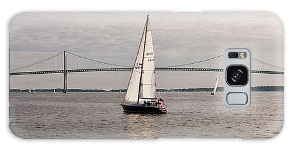 Swan Boats Galaxy Case - Gryphon Swan 44 Yacht Sailing by Panoramic Images