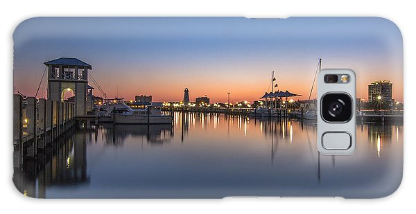 Gulfport Harbor Galaxy Case by Brian Wright