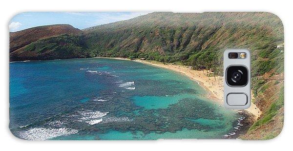 Hanauma Bay Oahu Hawaii Galaxy Case