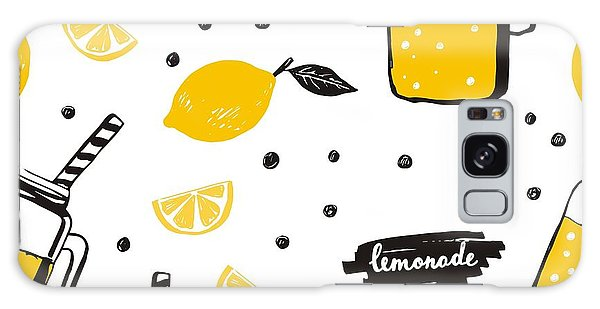 Jug Galaxy Case - Hand Drawn Lemonade by Nadezda Barkova