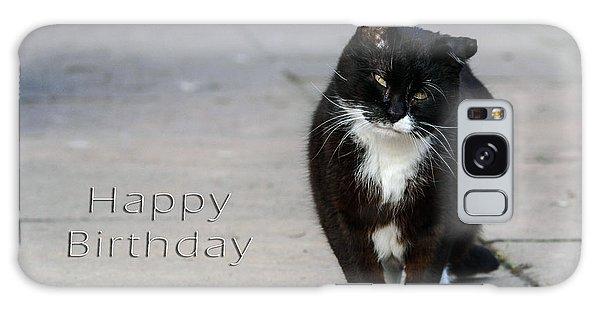 Happy Birthday Galaxy Case by Michele Wright