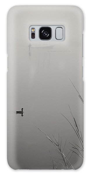 Harbor Fog No.2 Galaxy Case
