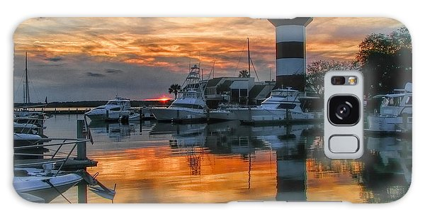 Harbour Town Sunset Galaxy Case
