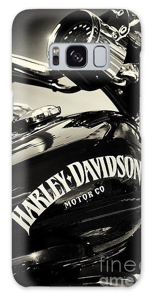 Harley D Sepia Galaxy Case