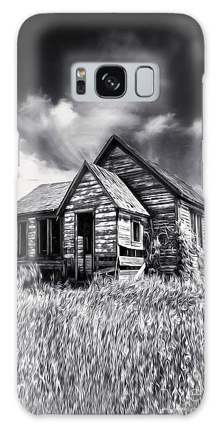Haunted Shack Galaxy Case by Gregory Dyer