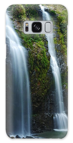 Hawaiian Waterfall Galaxy Case by James Roemmling