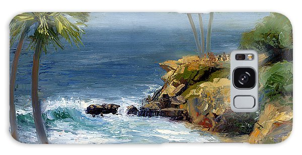 Heisler Park Galaxy Case by Alice Leggett