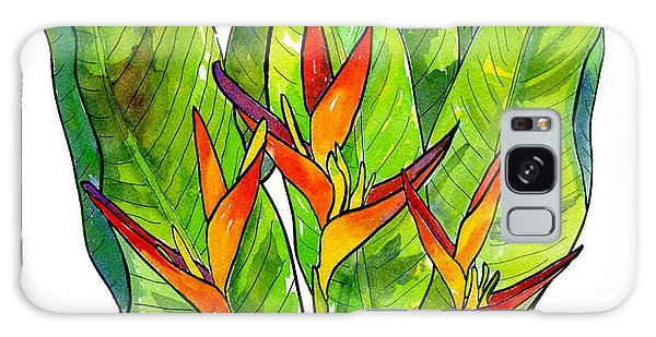 Heliconia Galaxy Case by Diane Thornton