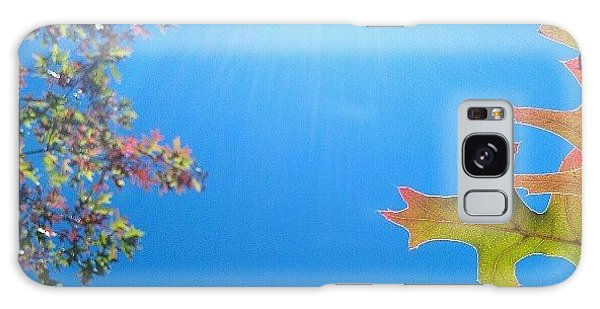 Hello Autumn Galaxy Case by CML Brown