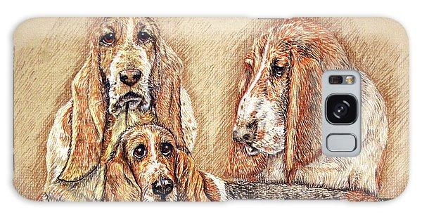 Hess'er Puppies Galaxy Case