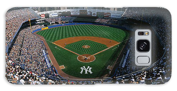 Yankee Stadium Galaxy S8 Case - High Angle View Of A Baseball Stadium by Panoramic Images