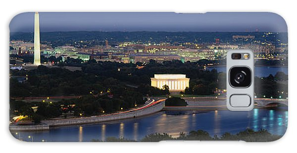 Horizontal Galaxy Case - High Angle View Of A City, Washington by Panoramic Images