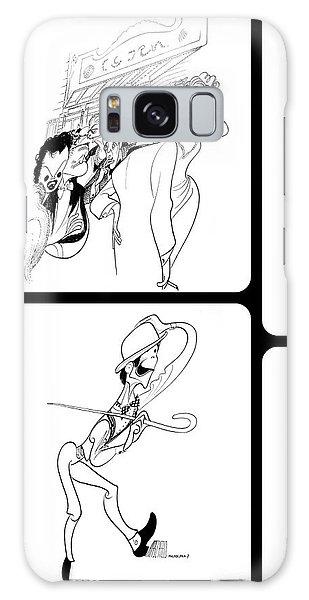 Hirschfeld's Drawings Galaxy Case