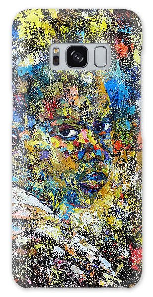 His Potrait Galaxy Case by Ronex Ahimbisibwe