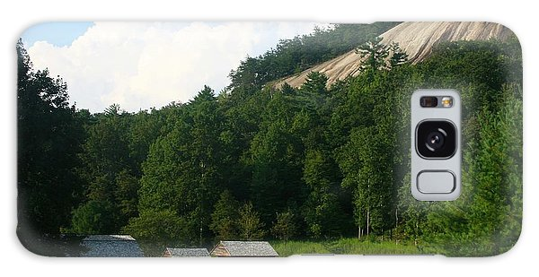 Historic Mountain Homestead Galaxy Case