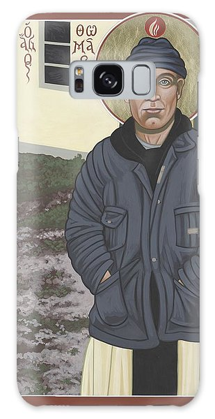 Holy World Evangelist Thomas Merton 267 Galaxy Case