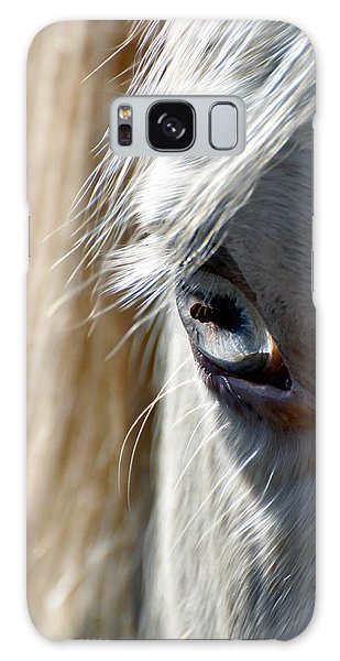 Horse Eye Galaxy Case by Savannah Gibbs