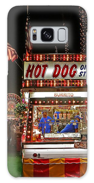 County Fair Galaxy Case - Hot Dog On A Stick by Peter Tellone