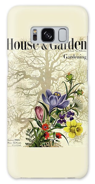 House And Garden Cover Galaxy Case