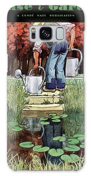 House And Garden Spring Gardening Guide Cover Galaxy Case