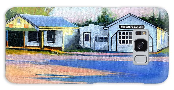 Huckstep's Garage Free Union Virginia Galaxy Case by Catherine Twomey