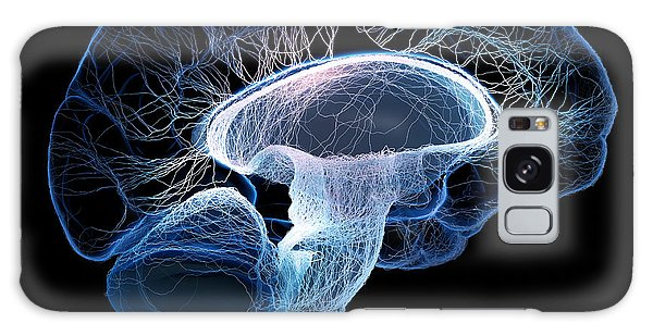 View Galaxy Case - Human Brain Complexity by Johan Swanepoel