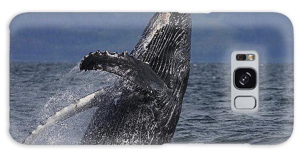 Humpback Whale Breaching Prince William Galaxy Case