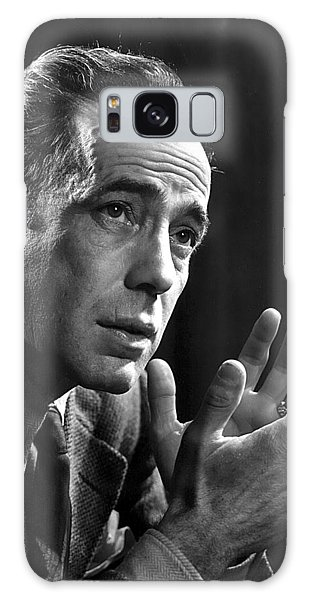 Humphrey Bogart Portrait 2 Karsh Photo Circa 1954-2014 Galaxy Case