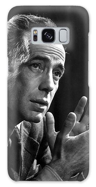 Humphrey Bogart Portrait 2 Karsh Photo Circa 1954-2014 Galaxy Case by David Lee Guss