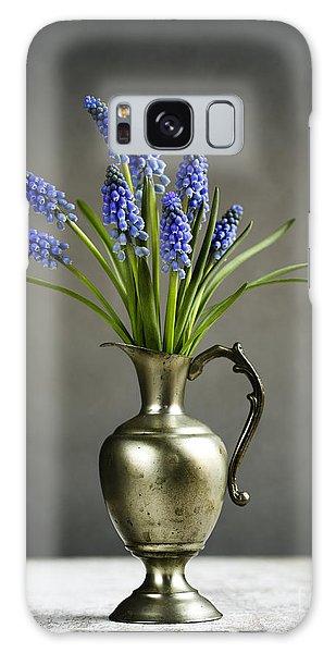 Grape Galaxy Case - Hyacinth Still Life by Nailia Schwarz