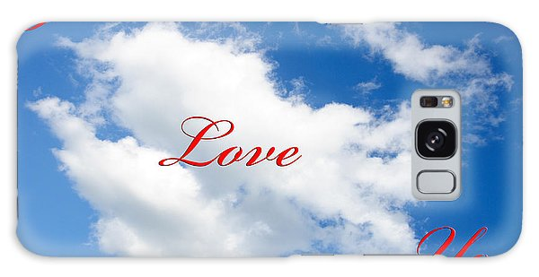 1 I Love You Heart Cloud Galaxy Case