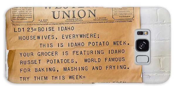 Idaho Potato Museum Galaxy Case by Jim West