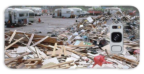 Caravan Galaxy Case - Illegal Rubbish Dump by Robert Brook/science Photo Library