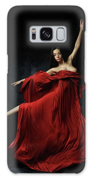Dress Galaxy Case - In Red by Constantin Shestopalov