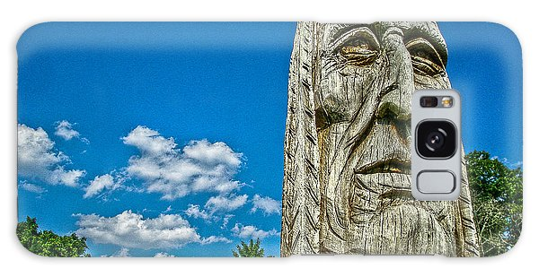Indian Chief Charlestowne Landing Galaxy Case