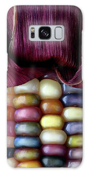 Indian Corn Galaxy Case - Indian Corn by Michael Clutson/science Photo Library