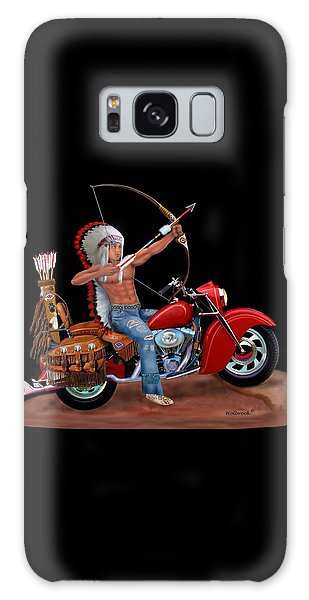 Indian Forever Galaxy Case by Glenn Holbrook