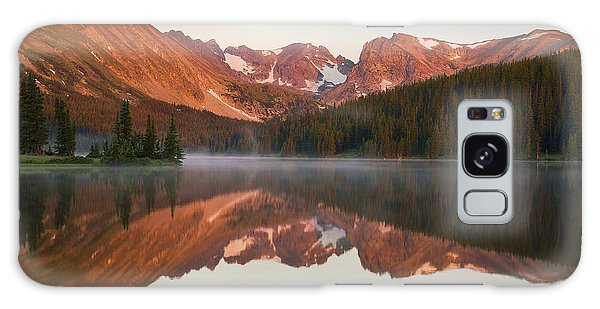 Indian Peaks At Sunrise Galaxy Case