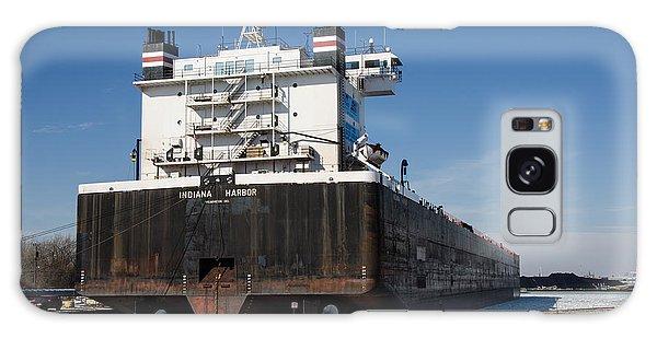 Indiana Harbor 4 Galaxy Case by Susan  McMenamin
