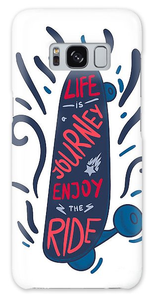 Success Galaxy Case - Inspirational Vintage Lettering by Barsrsind