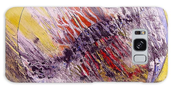Intersecting With Nature Galaxy Case by Carolyn Rosenberger