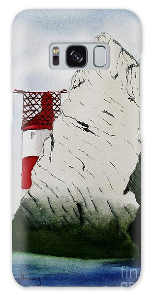 Isle Of Wight Lighthouse Galaxy Case