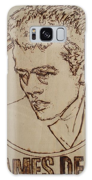 James Dean Galaxy Case by Sean Connolly