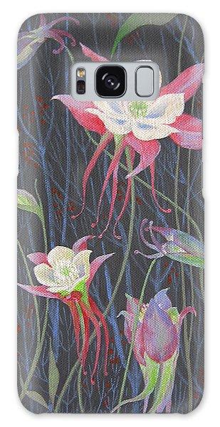 Japanese Flowers Galaxy Case