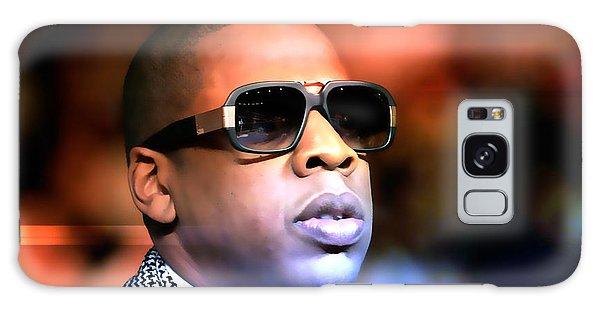 Jay Z Galaxy Case - Jay Z by Marvin Blaine
