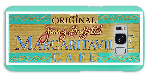 Jimmy Buffetts Margaritaville Cafe Sign The Original Galaxy Case by John Stephens